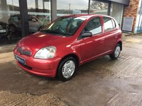 2003 TOYOTA YARIS 1.3 COLOUR COLLECTION VVT-I 5d 85 BHP £SOLD