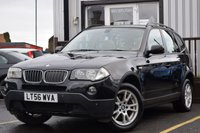 USED 2006 56 BMW X3 2.5 SI SE 5d AUTO 215 BHP COMPREHENSIVE SERVICED HISTORY, NEW MOT, SOME GREAT SPEC INC. SAT NAV, LEATHER HEATED SEATS & SUNROOF