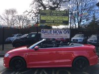 """USED 2015 15 AUDI A3 2.0 TDI QUATTRO S LINE 2d AUTO 182 BHP STUNNING MISANO RED WITH HALF BLACK LEATHER UPHOLSTERY. 184BHP QUATTRO SLINE. ONE OWNER WITH FULL SERVICE HISTORY. 17"""" 5 DOUBLE SPOKE ALLOY WHEELS. AIR CONDITIONING. PLEASE GOTO www.lowcostmotorcompany.co.uk TO VIEW OVER 120 CARS IN STOCK. SOME OF THE CHEAPEST ON AUTOTRADER."""