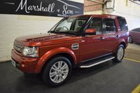 USED 2009 59 LAND ROVER DISCOVERY 4 3.0 4 TDV6 HSE 5d AUTO 245 BHP