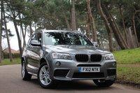 2012 BMW X3 2.0 X DRIVE 20D M SPORT AUTO  £16495.00