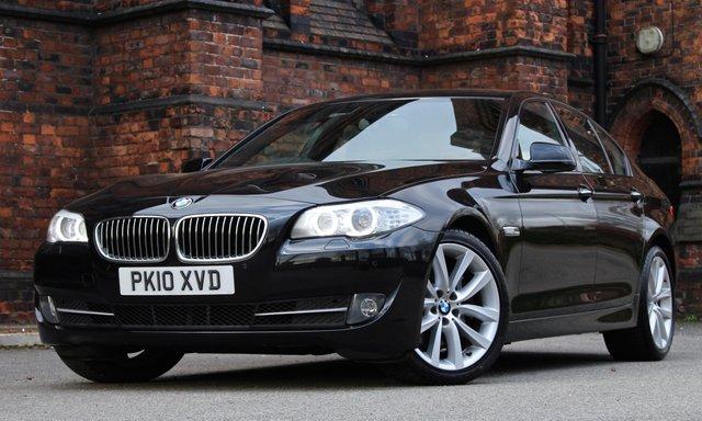 2010 10 BMW 5 SERIES 3.0 530D SE 4d AUTO 242 BHP