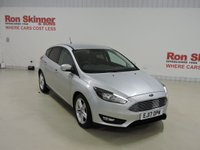USED 2017 17 FORD FOCUS 1.0 ZETEC EDITION 5d AUTO 124 BHP with Appearance Pack