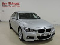 USED 2016 66 BMW 3 SERIES 2.0 320D M SPORT 4d AUTO 188 BHP with Park Distance Control + Heated Seats