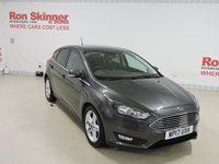 USED 2017 17 FORD FOCUS 1.0 ZETEC EDITION 5d 124 BHP with Appearance Pack