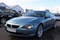 USED 2007 07 BMW 6 SERIES 3.0 630i Sport Auto 2dr SATNAV+BLUETOOTH+LEATHER