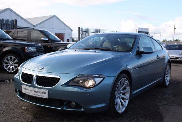 USED 2007 07 BMW 6 SERIES 3.0 630i Sport Auto 2dr SATNAV+BLUETOOTH+LEATHER