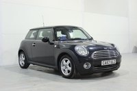 2008 MINI HATCH ONE 1.4 ONE 3d 94 BHP £3290.00