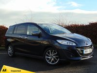 USED 2014 14 MAZDA MAZDA 5 1.6 D SPORT VENTURE EDITION 5d * ONE OWNER FROM NEW * FULL HEATED LEATHER INTERIOR *