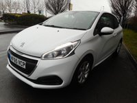 USED 2016 65 PEUGEOT 208 1.2 ACTIVE 3d 82 BHP * 1 Owner from New* £20 Road Tax*