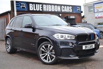 2014 BMW X5 3.0 XDRIVE40D M SPORT 5d AUTO 309 BHP £35990.00
