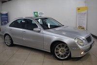 2005 MERCEDES-BENZ E CLASS 3.0 E320 CDI SPORT 4d AUTO 222 BHP £3395.00