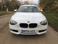 USED 2014 64 BMW 1 SERIES 1.6 116D EFFICIENTDYNAMICS BUSINESS 5d 114 BHP PLEASE CALL TO VIEW