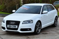 USED 2011 11 AUDI A3 2.0 SPORTBACK TDI S LINE BLACK EDITION 5d 138 BHP ***REQUEST YOUR WHATS APP VIDEO***