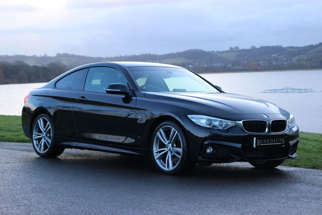2013 63 BMW 4 SERIES 2.0 420D XDRIVE M SPORT 2d 181 BHP