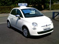 USED 2010 60 FIAT 500 1.2 POP 3d 69 BHP FINANCE AVAILABLE EVEN IF YOU HAVE POOR CREDIT.