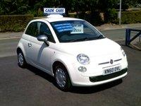 2010 FIAT 500 1.2 POP 3d 69 BHP £3995.00