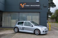 USED 2003 03 RENAULT CLIO 2.9 RENAULTSPORT V6 3d 227 BHP JUST 28,000 MILES FROM NEW, FULL SERVICE HISTORY, TIDY EXAMPLE OF AN APPRECIATING CAR