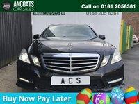 2012 MERCEDES-BENZ E CLASS 2.1 E250 CDI BLUEEFFICIENCY SPORT 4d AUTO 204 BHP £9995.00