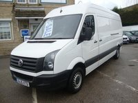 USED 2015 15 VOLKSWAGEN CRAFTER 35 2.0 TDI 136PS LWB HIGH ROOF SUPERB LONGWHEEL BASE CRAFTER