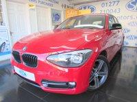 2014 BMW 1 SERIES 1.6 114I SPORT 5d 101 BHP £11295.00