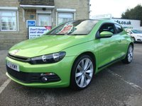 USED 2011 11 VOLKSWAGEN SCIROCCO 2.0 TSI 210 GT ( HIGH SPEC ) STUNNING EXAMPLE WITH GREAT SPEC AND EXCELLENT VW SERVICE HISTORY