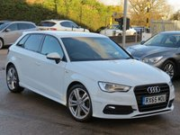 USED 2015 65 AUDI A3 2.0 TDI S LINE 5d 148 BHP *AA DEALER PROMISE READY TO DRIVE AWAY TODAY*