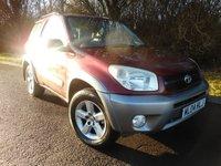 2004 TOYOTA RAV4 2.0 XT3 VVT-I 3d 147 BHP £2595.00