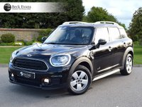 USED 2017 17 MINI COUNTRYMAN 1.5 COOPER ALL4 5d AUTO 134 BHP LOUNGE LEATHER MIN SATELITE NAVIGATION SATELITE NAVIGATION 1 OWNER  LOW MILEAGE