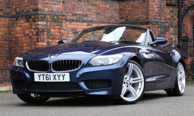 2011 61 BMW Z4 2.5 Z4 SDRIVE23I M SPORT ROADSTER 2d 201 BHP