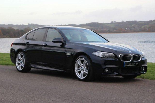 2015 15 BMW 5 SERIES 2.0 520D M SPORT 4d AUTO 188 BHP