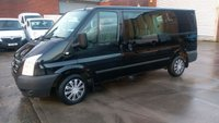 USED 2012 12 FORD TRANSIT 2.2 280 TREND LR DCB 1d 124 BHP 6 SEATER CREW VAN \ FREE 12 MONTHS WARRANTY COVER ////