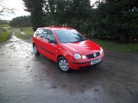USED 2002 02 VOLKSWAGEN POLO 1.2 E 3d 63 BHP LAST OWNER 10 YEARS. 12 MONTHS MOT. JUST SERVICED. FANTASTIC CONDITION
