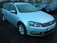 2013 VOLKSWAGEN PASSAT 1.6 S TDI BLUEMOTION TECHNOLOGY 5d 104 BHP £SOLD