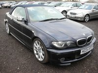 2006 BMW 3 SERIES 3.0 330CD SPORT 2d 202 BHP £2500.00