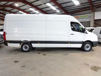 2015 VOLKSWAGEN CRAFTER 2.0 CR35 TDI H/R P/V 109 BHP LWB-ONE OWNER-SERVICE HISTORY £10995.00