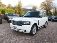 USED 2012 12 LAND ROVER RANGE ROVER 4.4 TDV8 WESTMINSTER 5d AUTO 313 BHP Very clean Westminster Range Rover