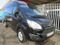 2014 FORD TRANSIT CUSTOM 290  LIMITED L2 H2 125 PS LWB High roof *AIR CON* £12995.00