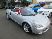 USED 2003 03 TOYOTA MR2 1.8 ROADSTER 2d 138 BHP FULL SERVICE HISTORY