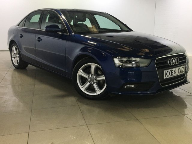 View our 2014 64 AUDI A4 2.0 TDI ULTRA SE TECHNIK 4d 161 BHP