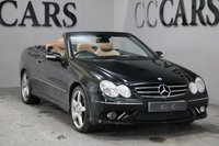 USED 2006 06 MERCEDES-BENZ CLK 3.5 CLK350 SPORT 2d AUTO 269 BHP A WELL MAINTAINED EXAMPLE WITH A HIGH SPECIFICATION TO INCLUDE COMMAND SAT NAV FULL ELECTRIC MULTICONTOUR LEATHER SEATS