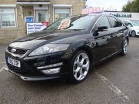 USED 2012 12 FORD MONDEO 2.2 TDCI 200 BHP TITANIUM X SPORT TOP LEVEL X SPORT MODEL WITH 8 X SERVICE STAMPS