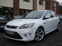 USED 2008 58 FORD FOCUS 2008 58 FORD FOCUS 2.5 ST-2,NEW MODEL,ALPINE WHITE,STUNNING COND!!!!