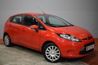 2012 FORD FIESTA 1.4 TDCi EDGE 5 Door Hatchback 69 BHP £4945.00
