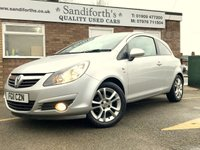 2011 VAUXHALL CORSA 1.2 SXI 3d ONLY 2 FORMER KEEPERS 54K 7 SERVICES  £3790.00
