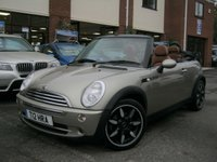 USED 2007 MINI CONVERTIBLE 2007 07-Reg Mini Cooper Sidewalk Convertible,FULL CHOC LEATHER,MUST SEE!!!