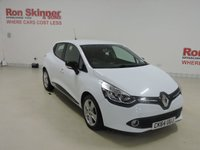 USED 2014 64 RENAULT CLIO 1.5 DYNAMIQUE MEDIANAV ENERGY DCI ECO2 S/S 5d 90 BHP
