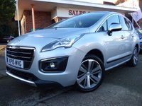 2015 PEUGEOT 3008 1.6 E-HDI ALLURE 5d AUTO 115 BHP £SOLD