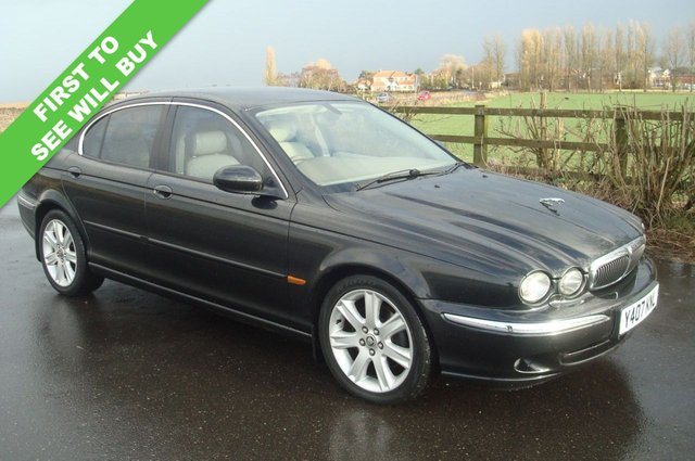 2001 JAGUAR X-TYPE 3.0 V6 SE 4d AUTO 231 BHP FULL LEATHER SAT NAV PX TO CLEAR