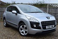 USED 2012 12 PEUGEOT 3008 1.6 ACTIVE E-HDI FAP 5d AUTO 112 BHP Free 12  month warranty